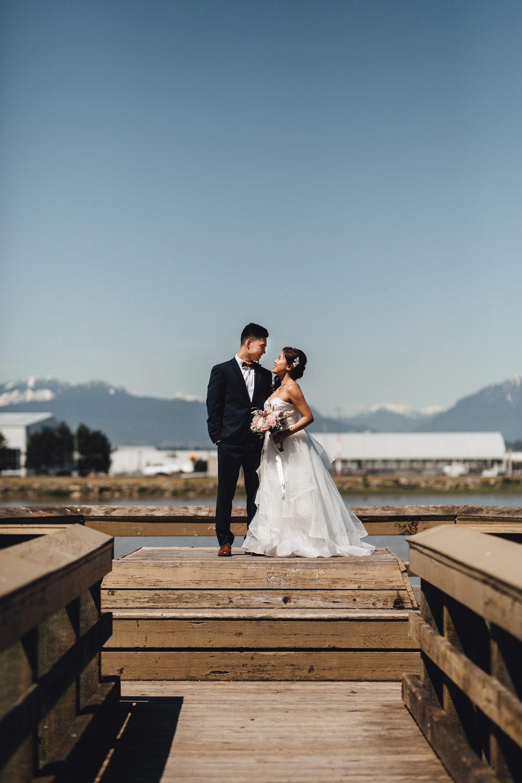richmond wedding photographer terra nova park river road