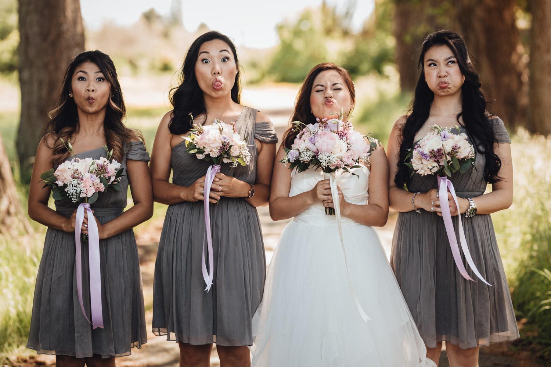 richmond wedding photography terra nova rural park candid funny faces
