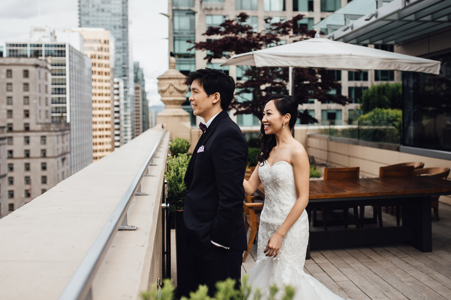 rosewood hotel georgia vancouver wedding photography