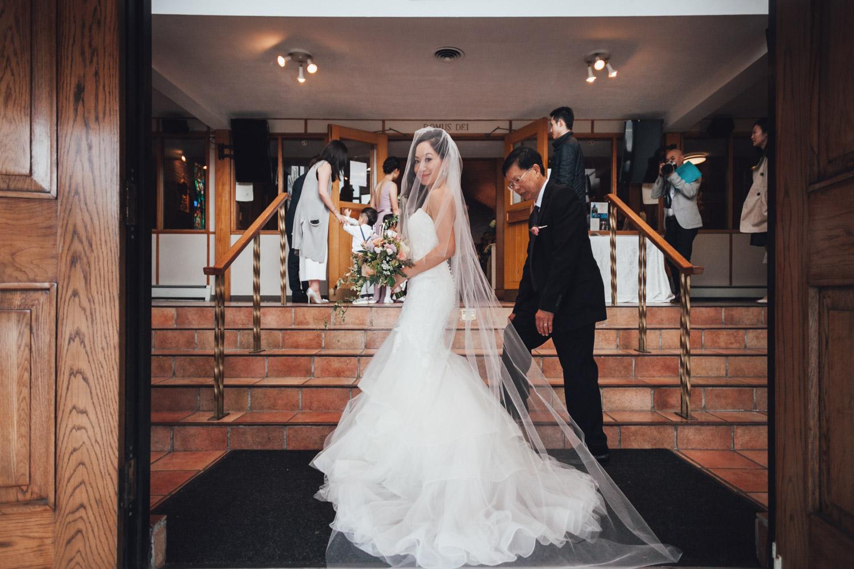 vancouver wedding photography st. anthony's parish ceremony