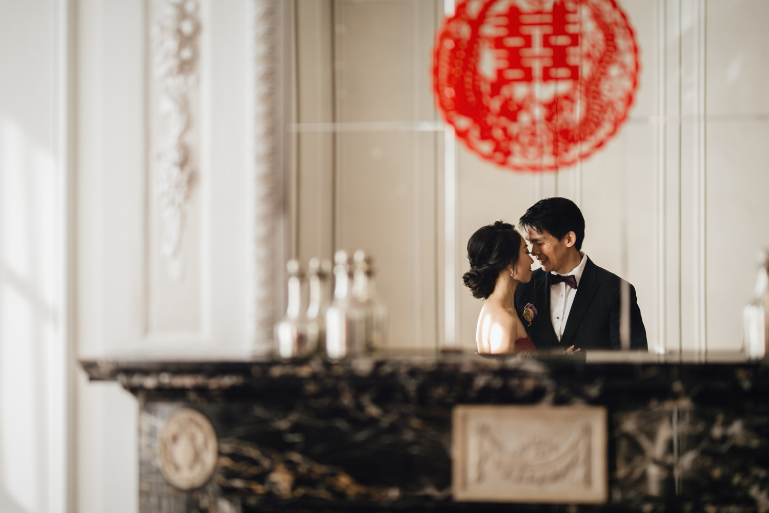 rosewood hotel georgia wedding chinese tea ceremony photography vancouver bc