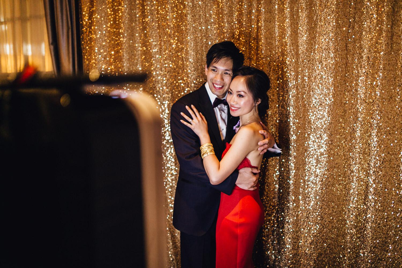 rosewood hotel georgia spanish ballroom wedding reception photography vancouver Photobooth