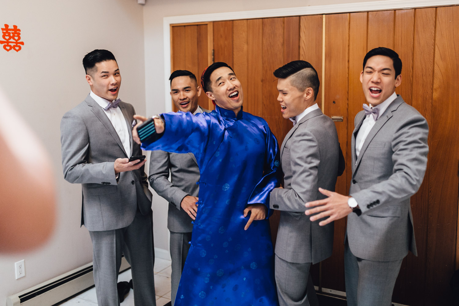 chinese door games tradition wedding photography in vancouver bc