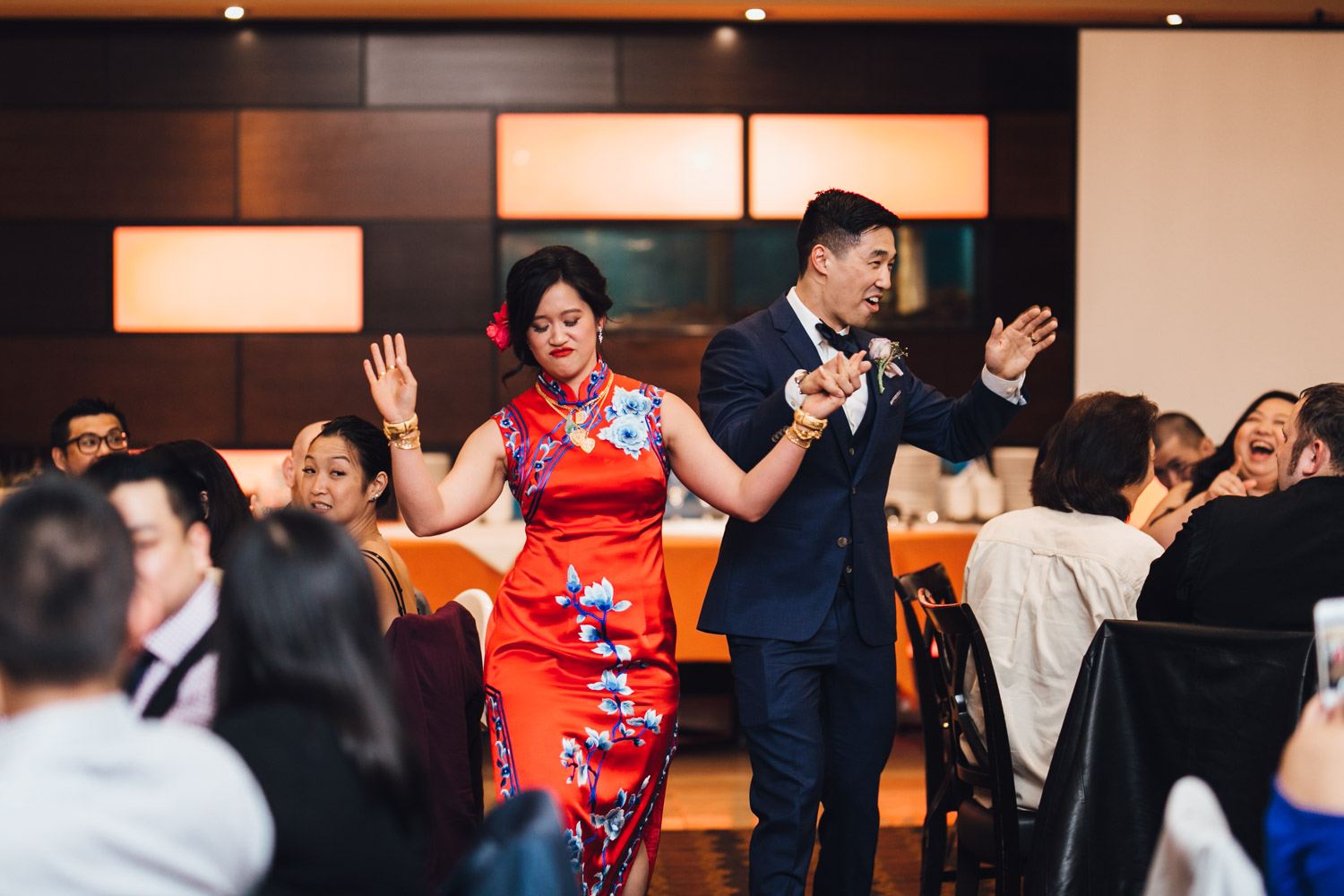 chinese wedding reception photography at kirin restaurant in new westminster