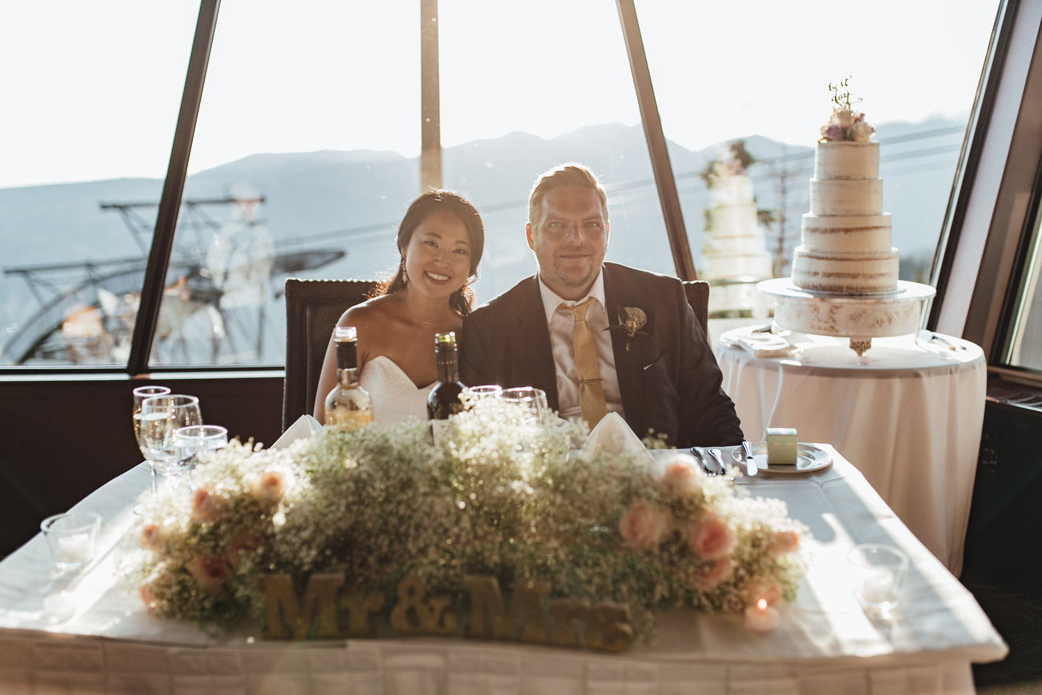 grouse mountain wedding photography in north vancouver bc