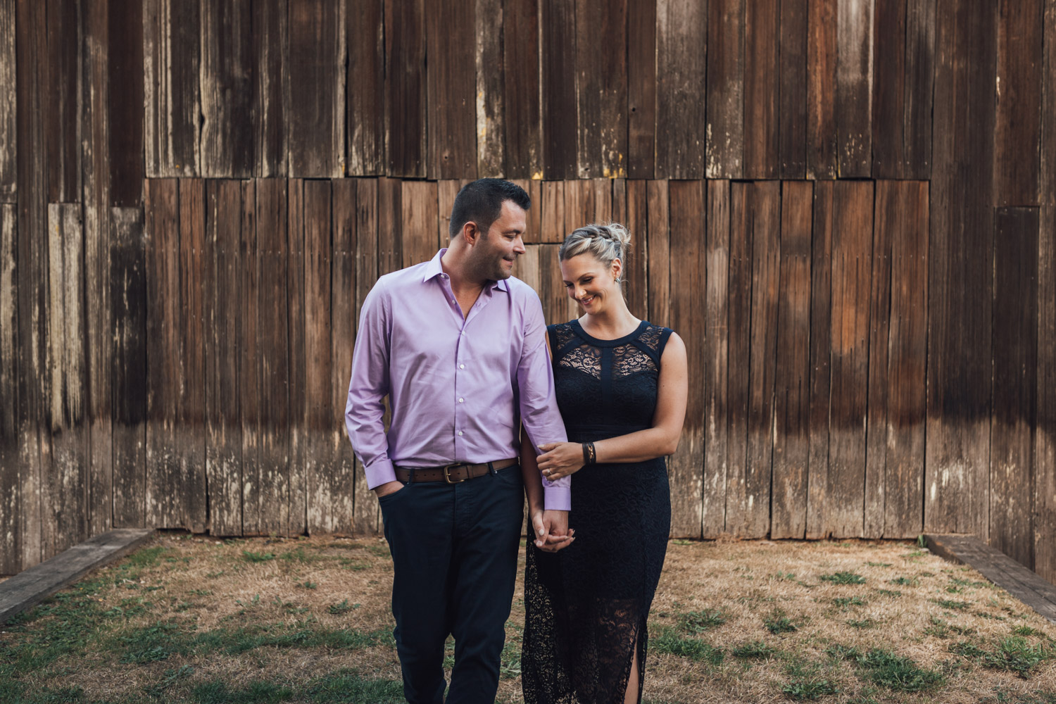 Engagement photography at Campbell Valley Park in Langley, BC