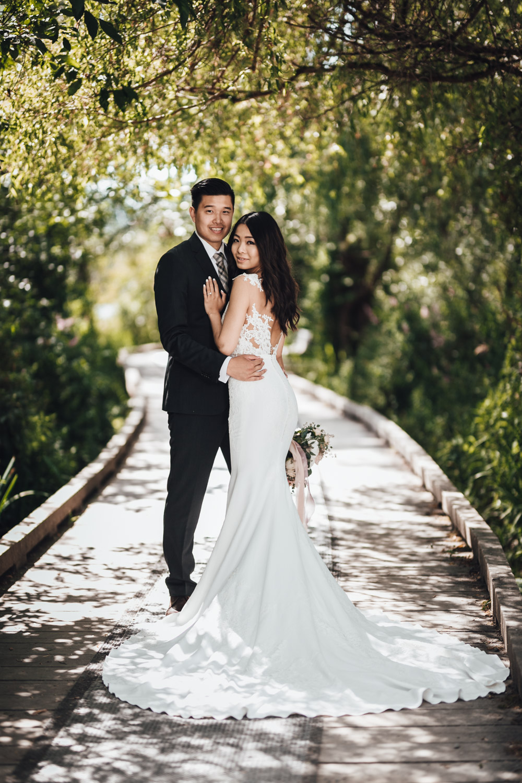 burnaby wedding photography at deer lake park bride and groom portraits