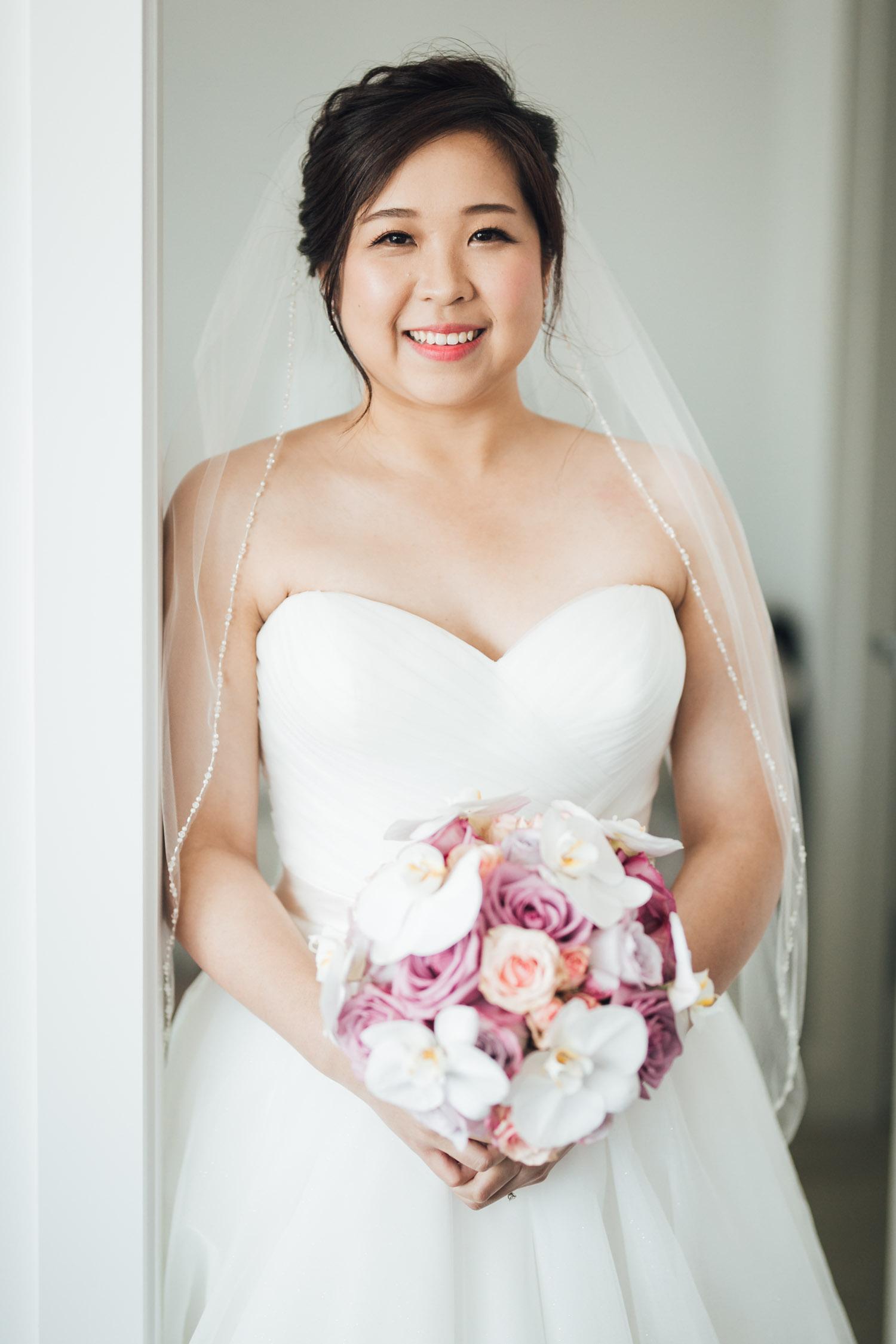 bride portrait burnaby wedding photography