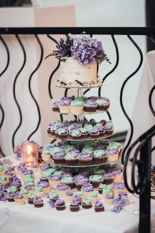 wedding cupcake brix & mortar restaurant wedding photography in yaletown vancouver bc