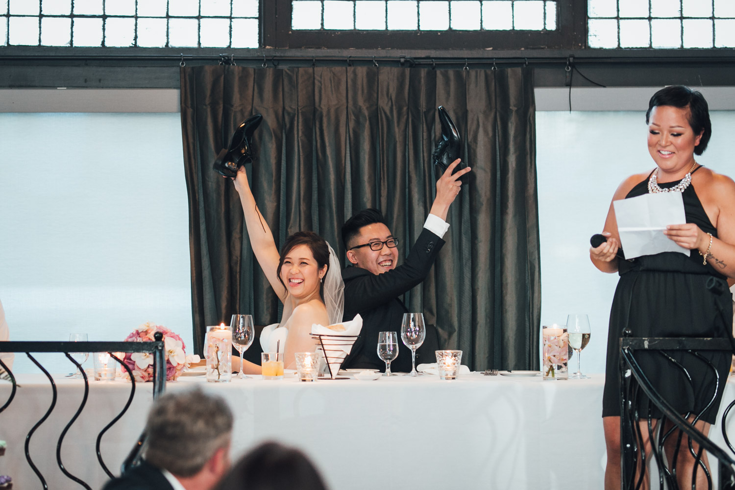 brix & mortar restaurant wedding photography in yaletown vancouver bc