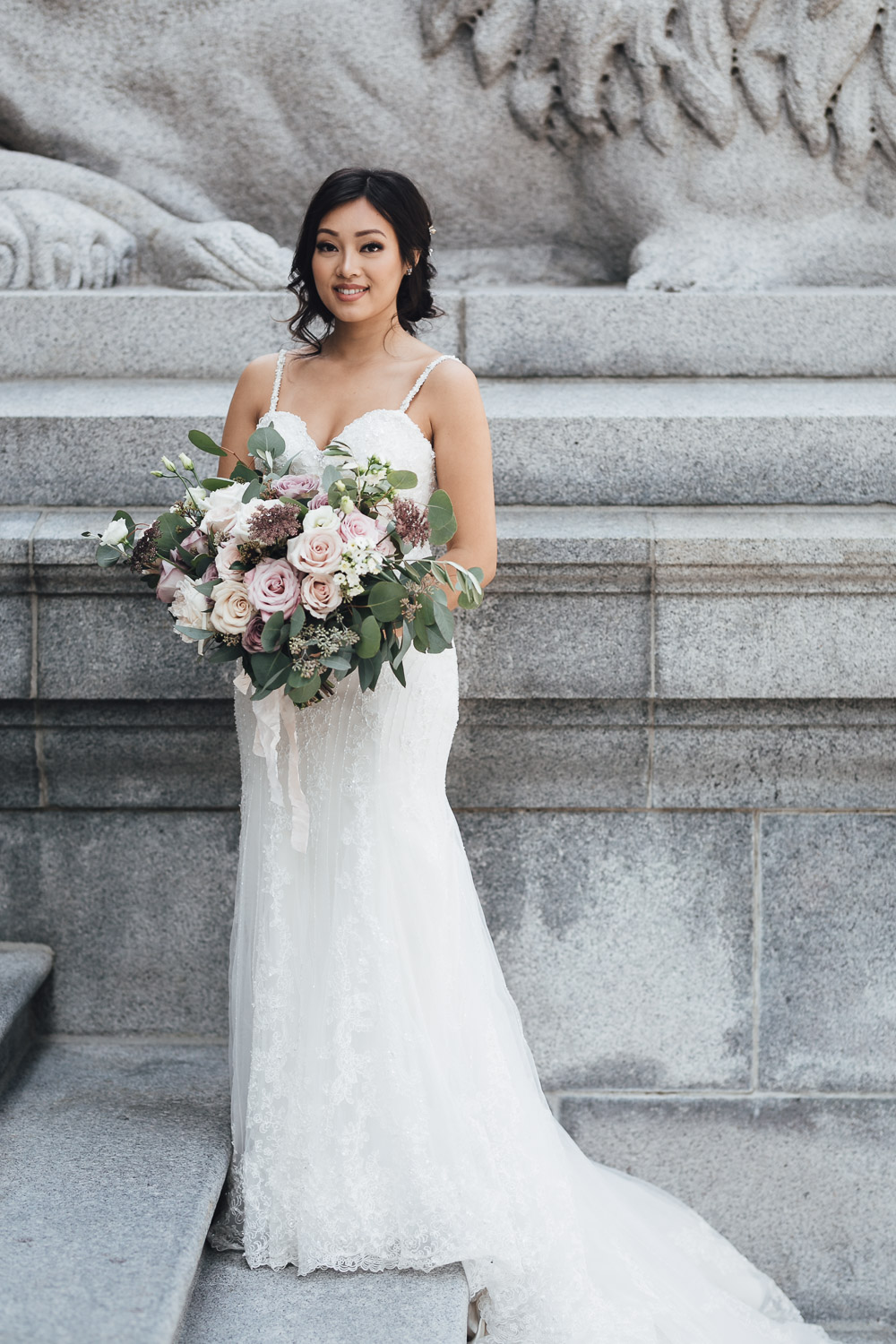 vancouver art gallery wedding photography portrait bc
