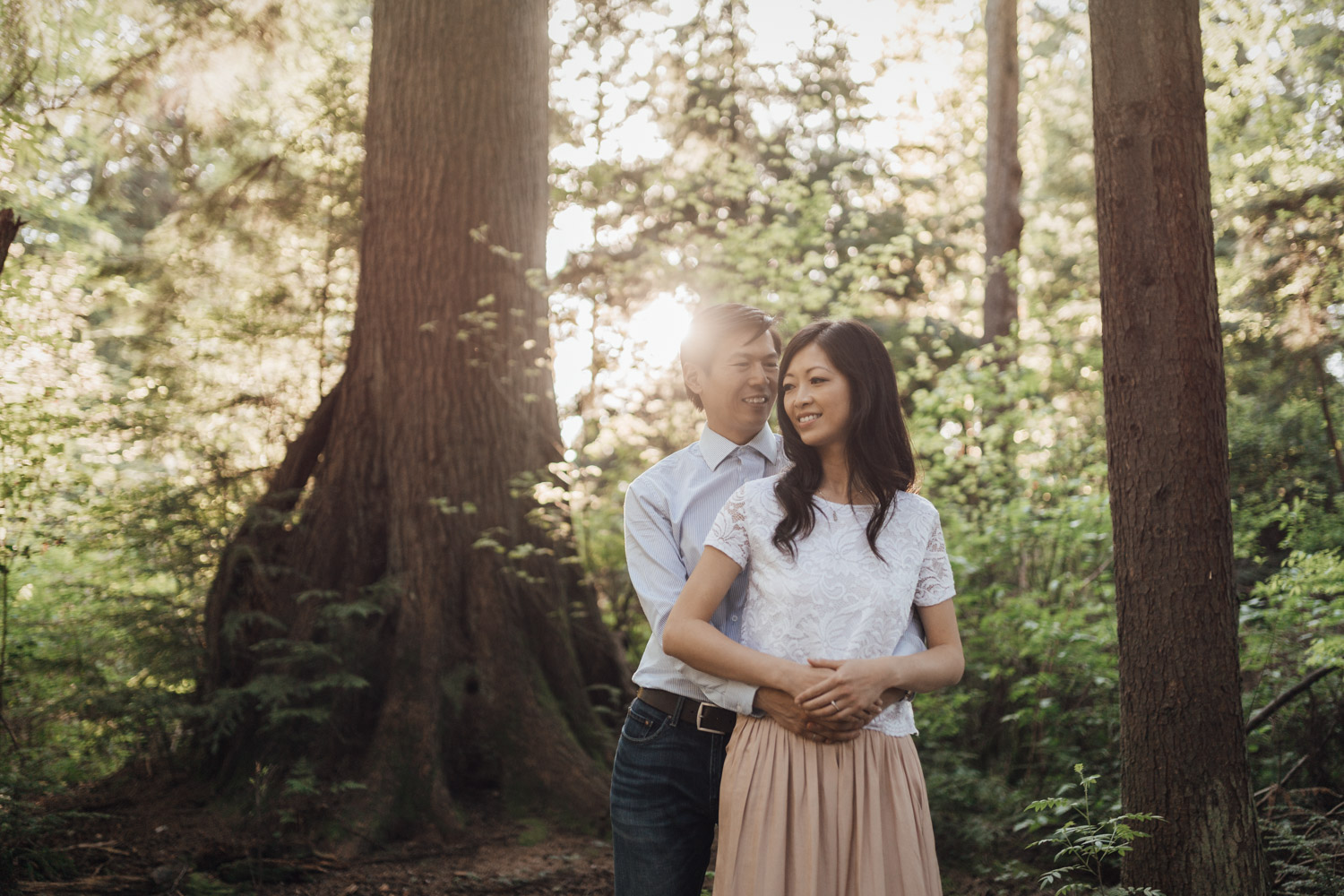 prospect point stanley park engagement photography in vancouver bc