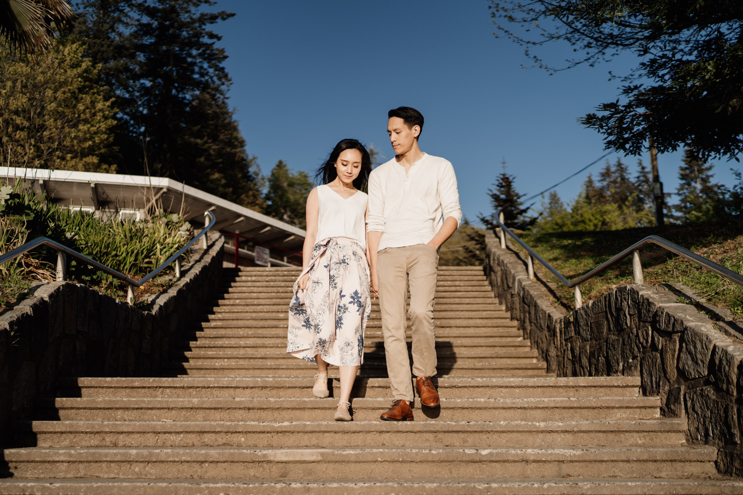 third beach engagement photography in stanley park vancouver bc