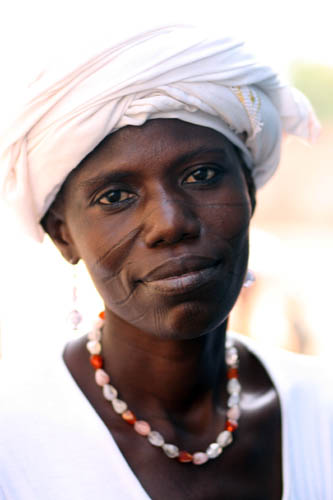 Woman in Burkina Faso