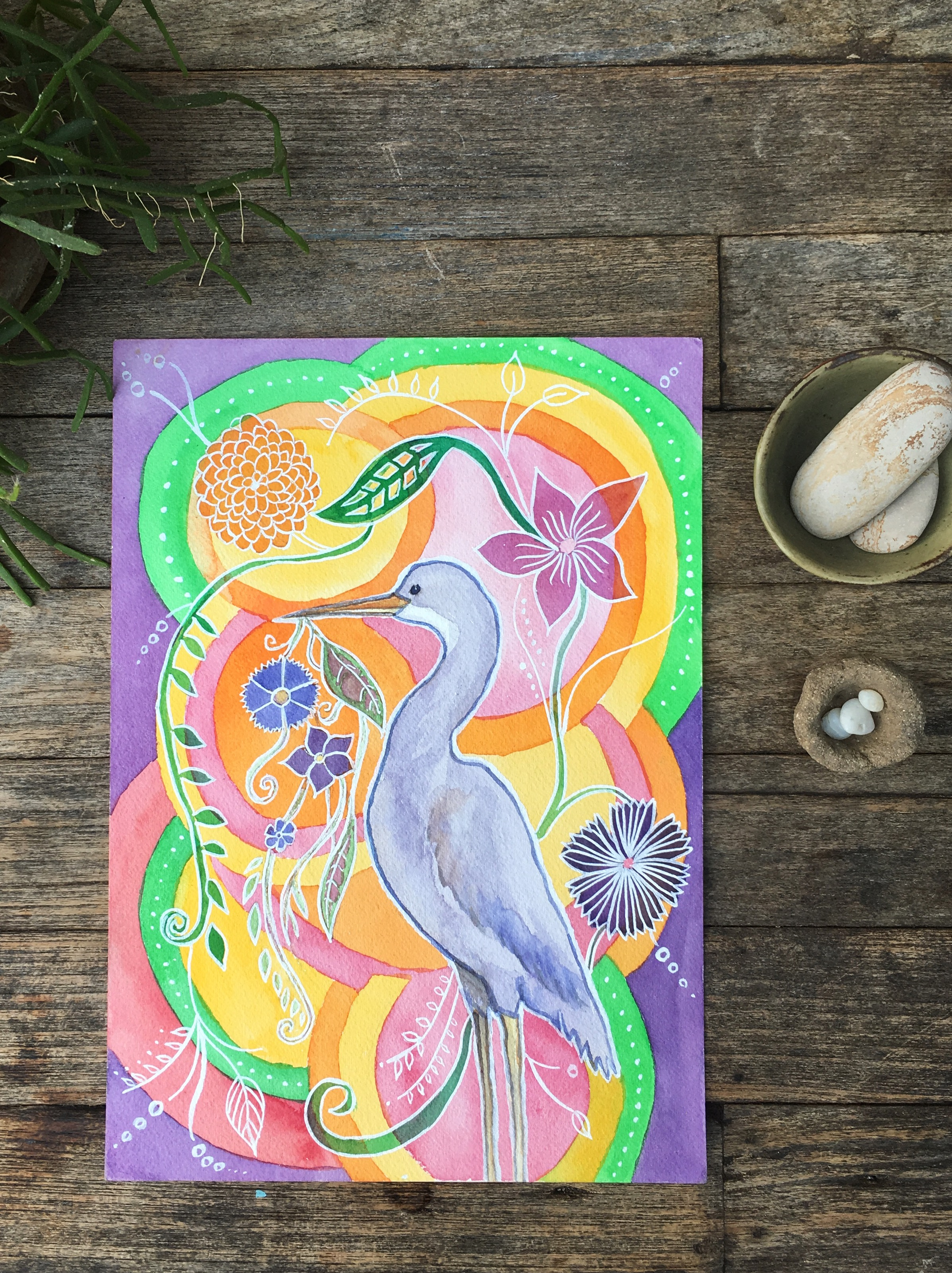 Heron dreams of flowers original.JPG