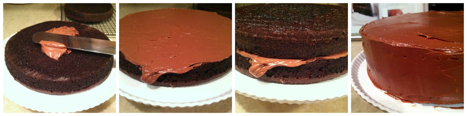 assembling a layer cake | hello, sweetie!