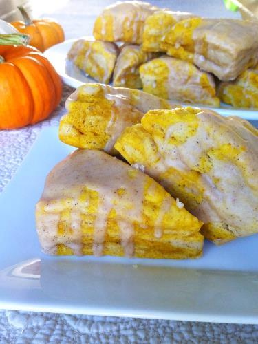 pumpkin scones | hello, sweetie!