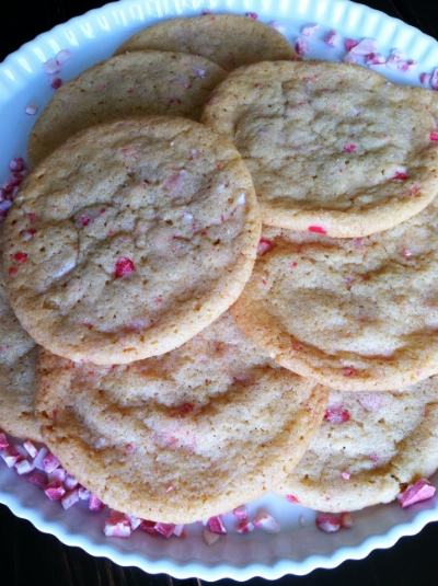 chewy vanilla peppermint sugar cookies | hello, sweetie!
