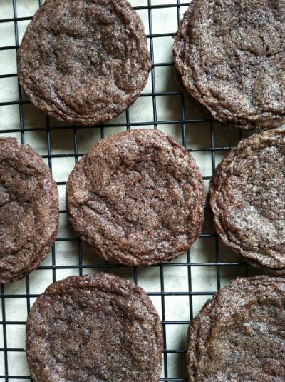dutch cocoa sugar cookies | hello, sweetie!