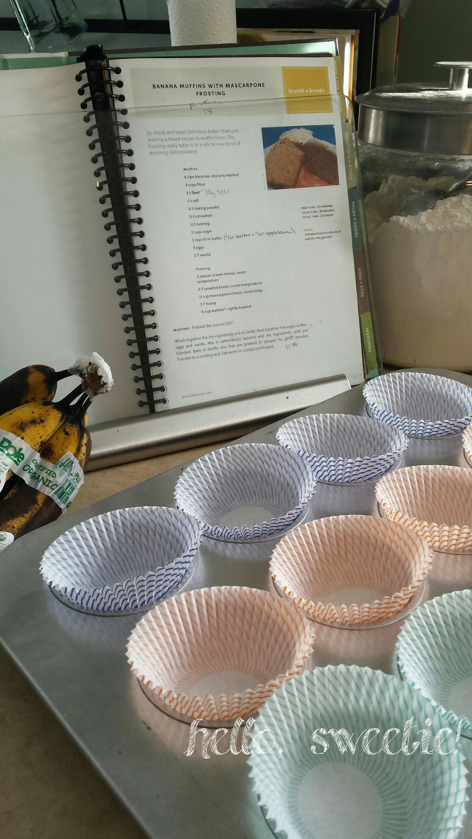 muffin preparation | hello, sweetie!