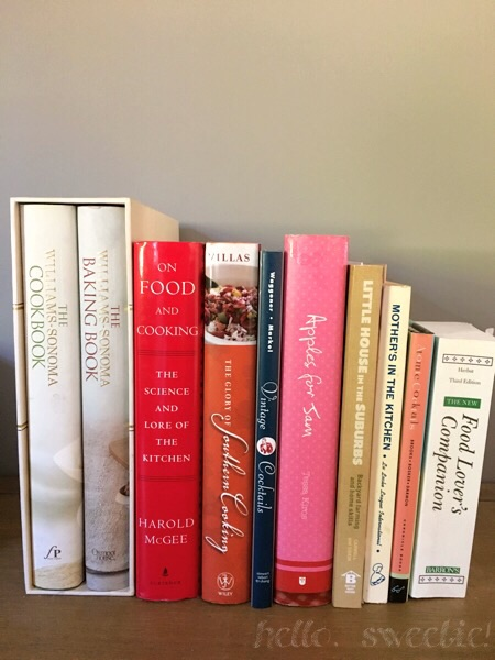 amassing a cookbook collection