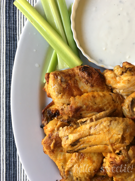 5 Ingredient Crockpot Chicken Wings