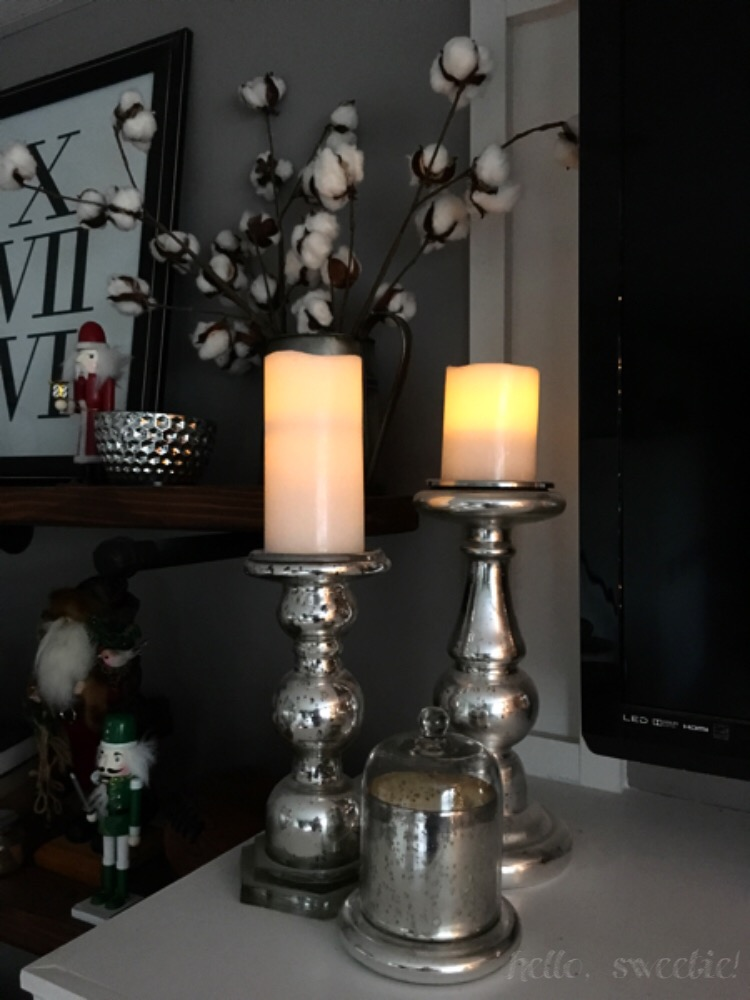 Battery operated candles are incredible with kids around!