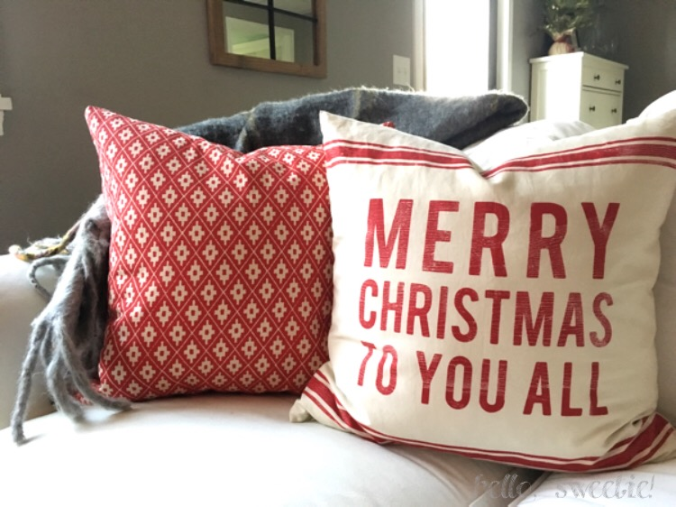 Hygge for the Holidays: Cozy up with blankets, pillows and sweaters.