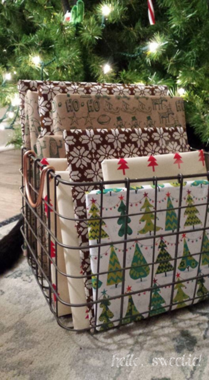 The advent book basket, 24 days of holiday children's books.