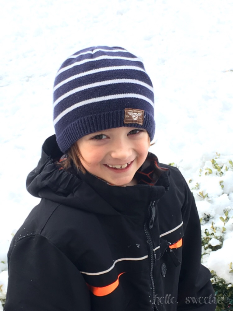 Playing in the snow in Upstate NY