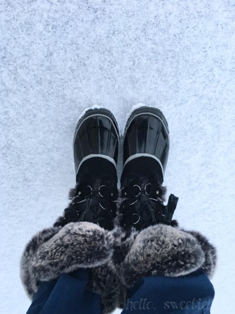 My favorite winter weather footwear.