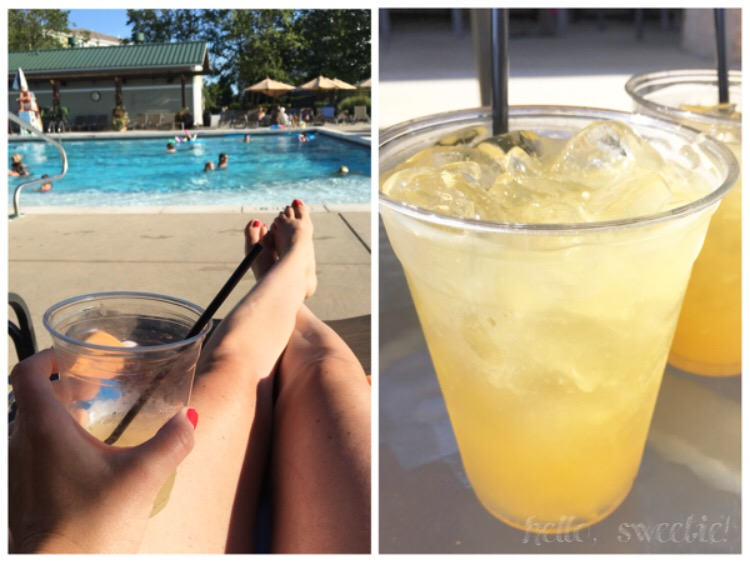 "How can anyone be unhappy surrounded by pools & sunshine?  Did I mention there's a tiki bar and poolside food service? My husband and I looked forward to the signature ""Orange Crush"" after spending all morning at the beach!"