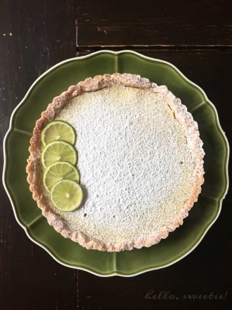 Creamy Lime Tart | Hello, Sweetie!