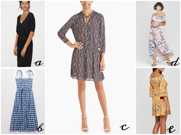 A far cry from those I wore at age 7, these* smocked dresses are feminine but relaxed.