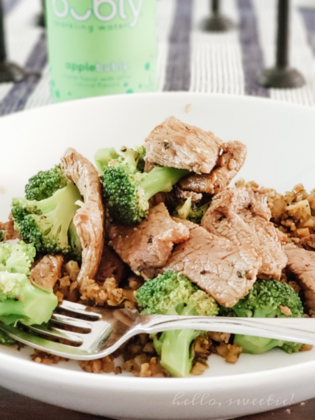 Quick and easy Beef and Broccoli is on the table in just 10 minutes!