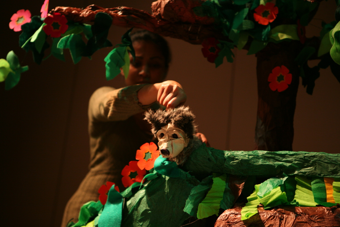 Dreamtime, a touring childrens puppet show