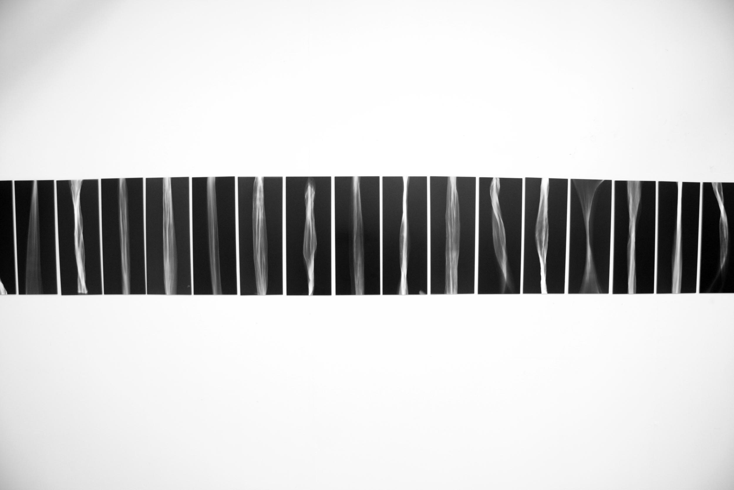 'Purgatory of Light'  series of photograms
