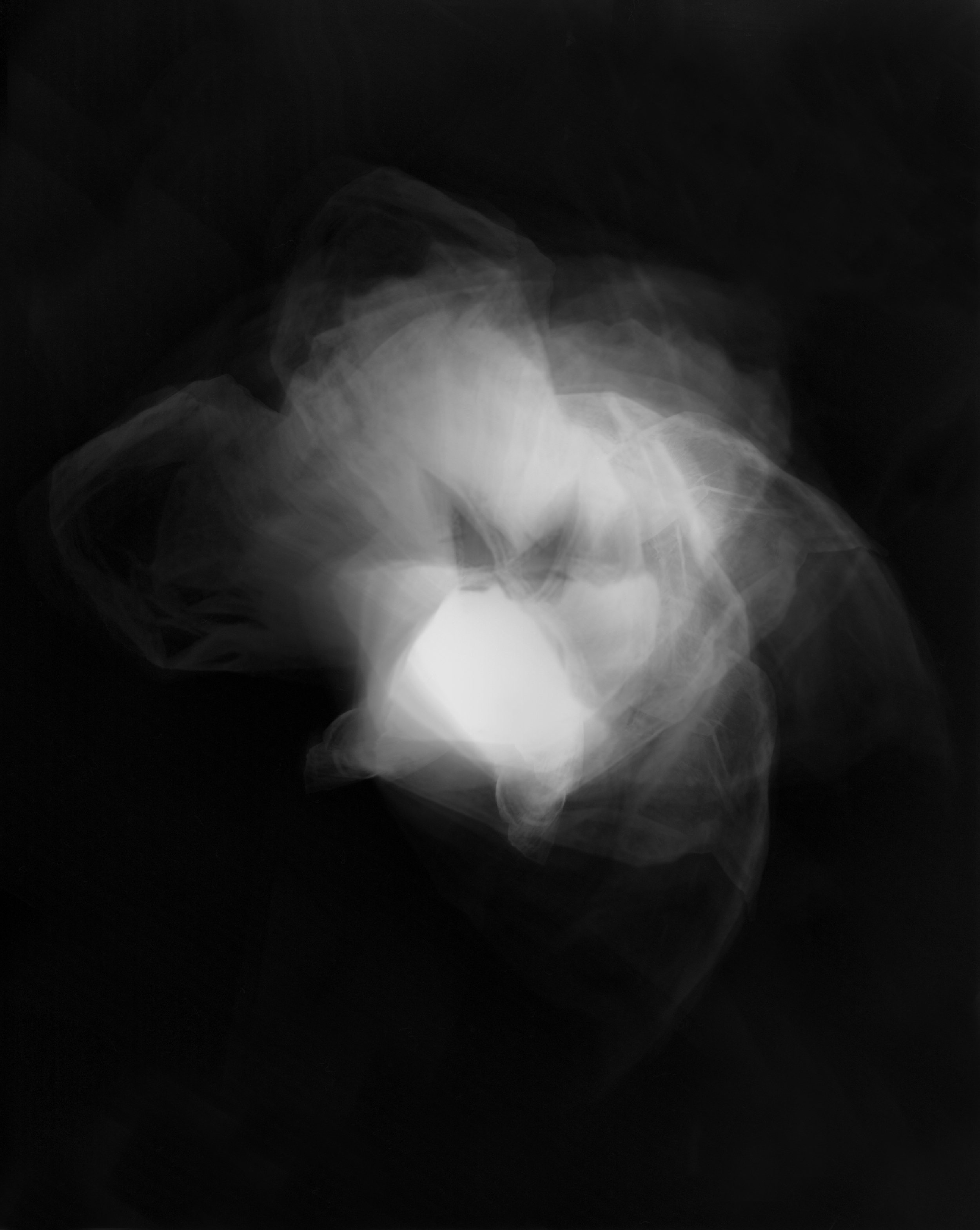 'Crypt of the mind'  photogram, 42 x 29 cm