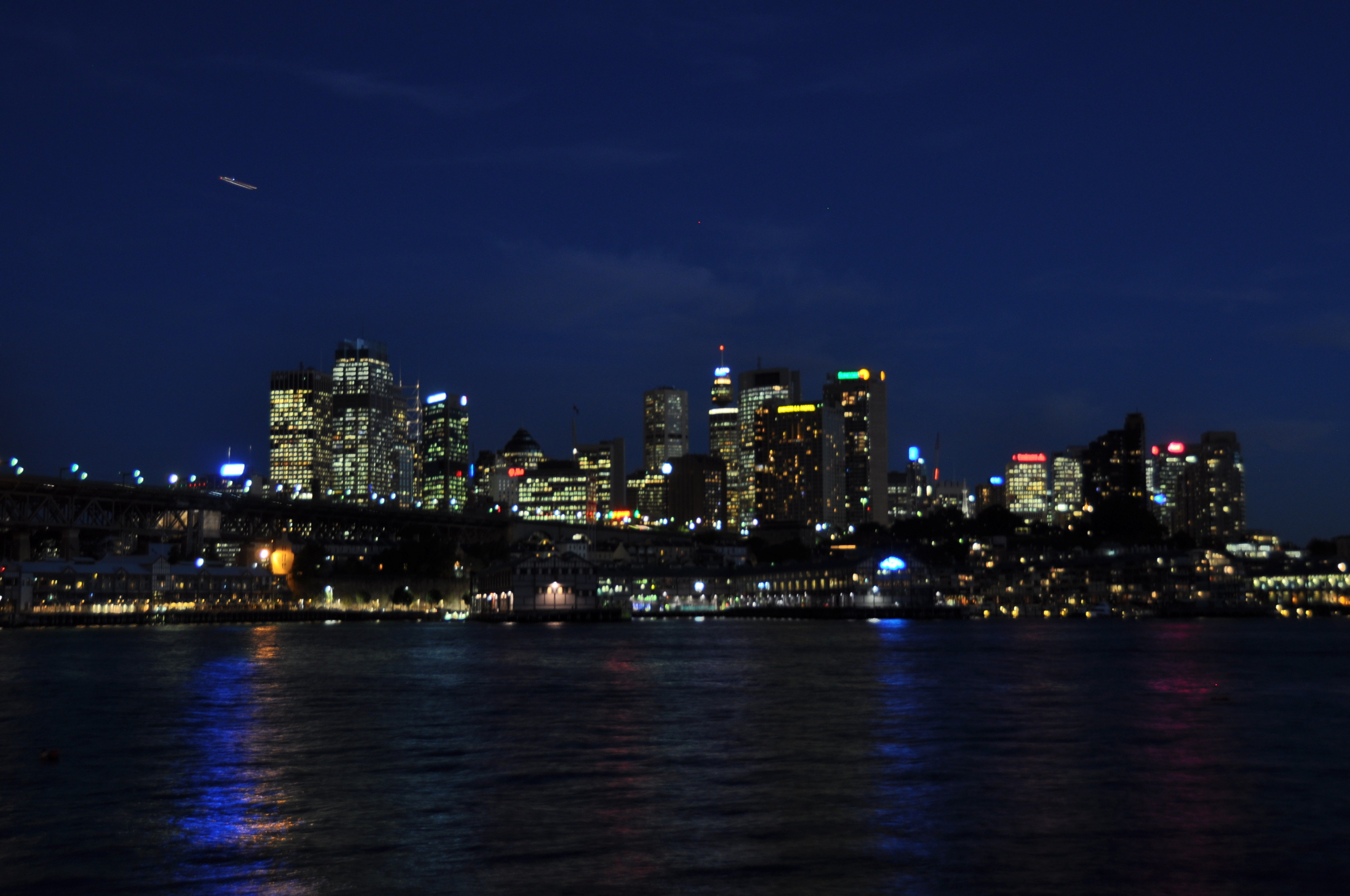 Playing at night in Sydney