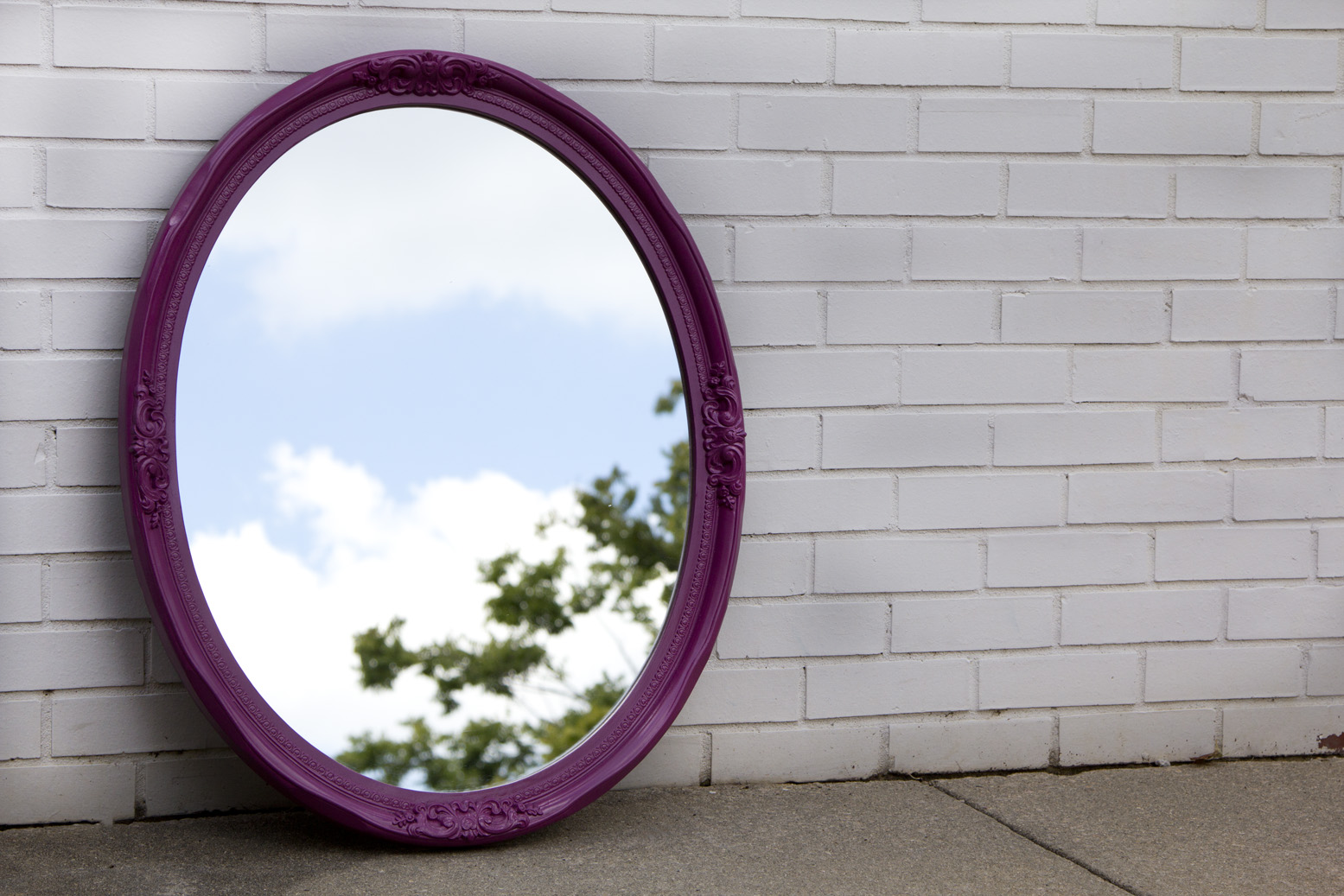 "Throne Mirror  |  31""x 25""   |   $60"