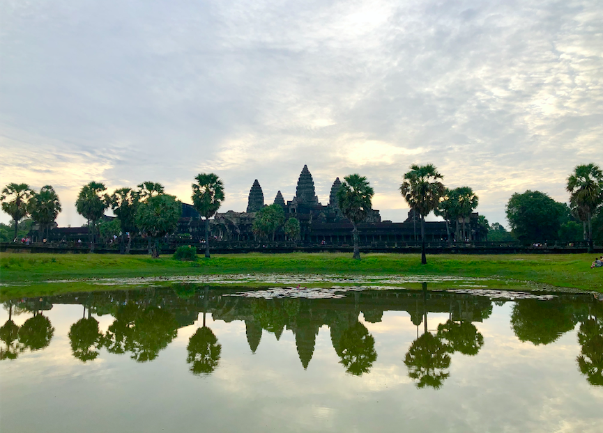 Iconic image of Angkor Wat that is not exactly what it seems…