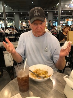 Roy's last meal in Thailand. He said it was the best one yet!