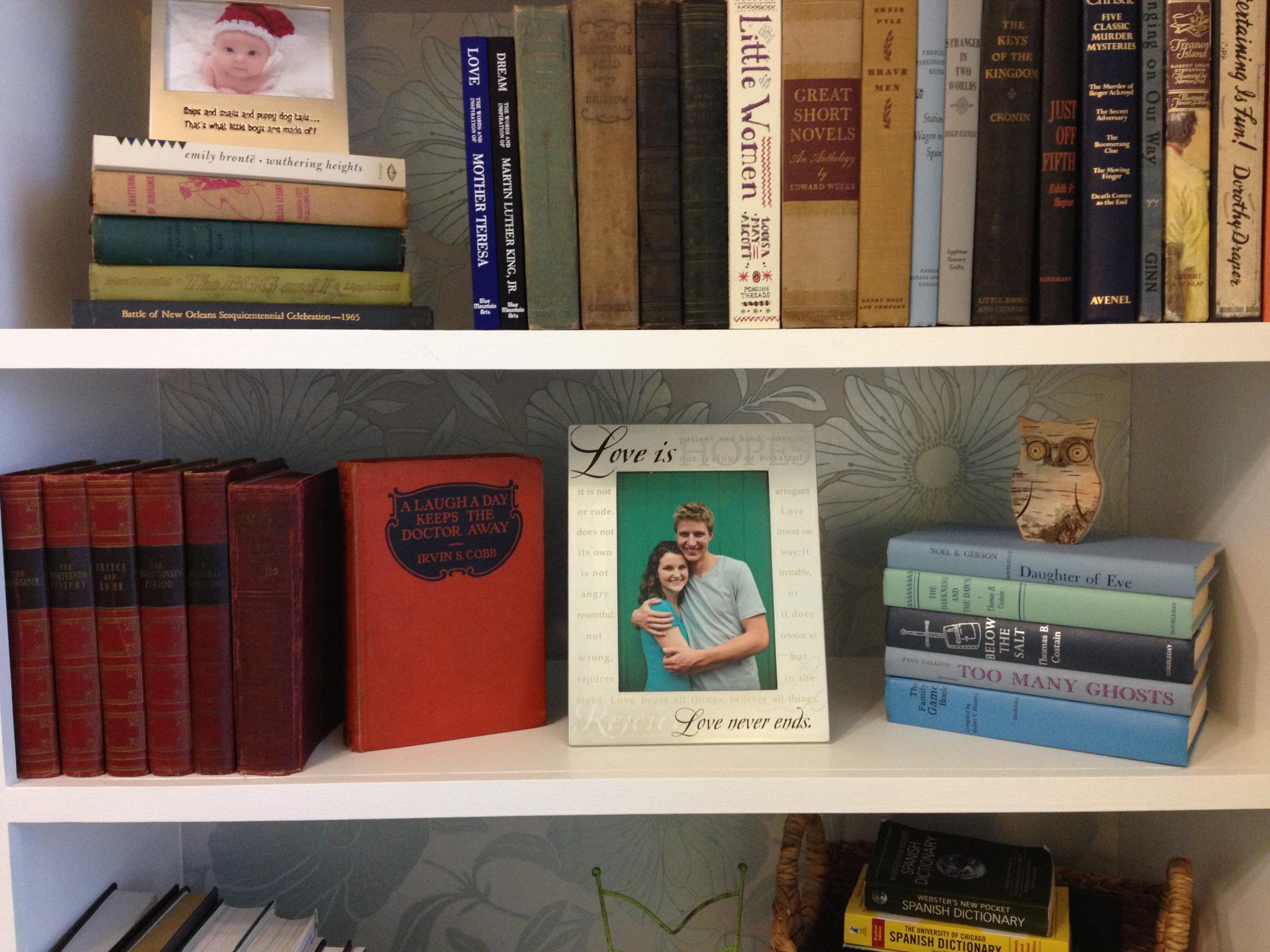 My favorite shelf :)