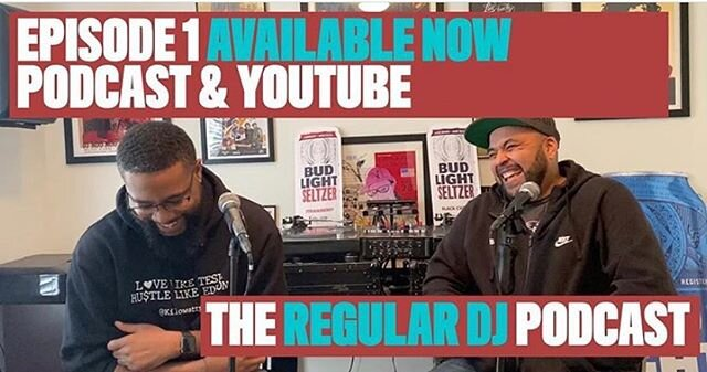 BIG news!! @theregulardjpodcast Episode 1: Meet the Homies is up now. Quick intro to @nattyheavy and @djrdot and the future of their podcast. Website coming soon!!! •••••• #new #dj #djlife #podcast #podcasting #weinhere #charleston #charlestonsc #charlestonscene #chs #charlestondj #charlestonmusic #music #djscrew #listen #giglife #2020 #EarForMusic #AllThingMusic #NattyHeavy #DjNattyHeavy #DjRdot