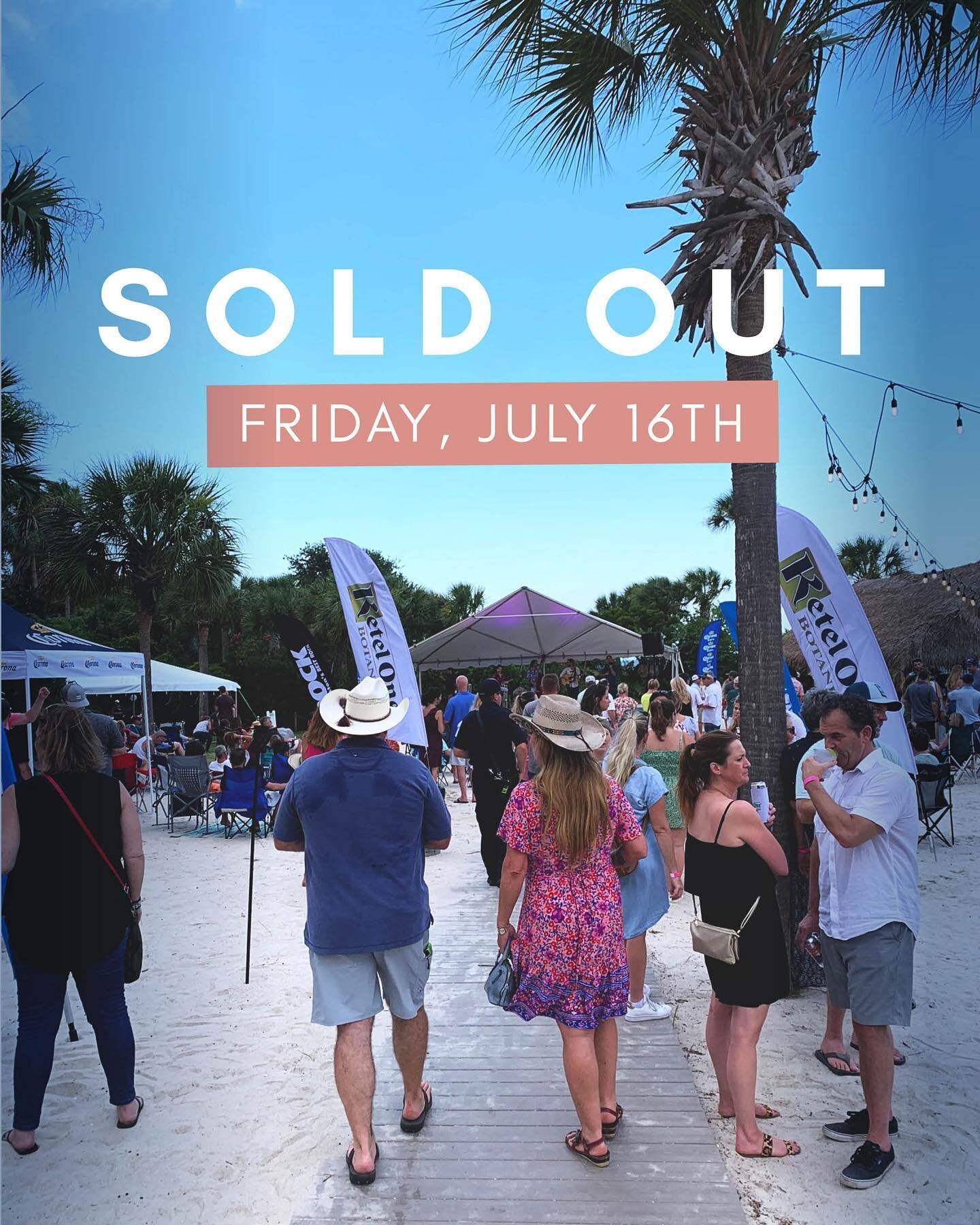 Tonight's Party at the Point show with Red Dog Ramblers is officially SOLD OUT!   Get ahead of the crowd and grab your tickets for next week's show with @mrhollandsoats via the link in our bio!!  Special thanks to @cheerssc @ketelonebotanical @ketelone @corona @modelousa @thebridgeat1055 @my98rock @redsicehouse @starlingchevroletmp @earformusic @charlestonharborresort @charlestonharbormarina