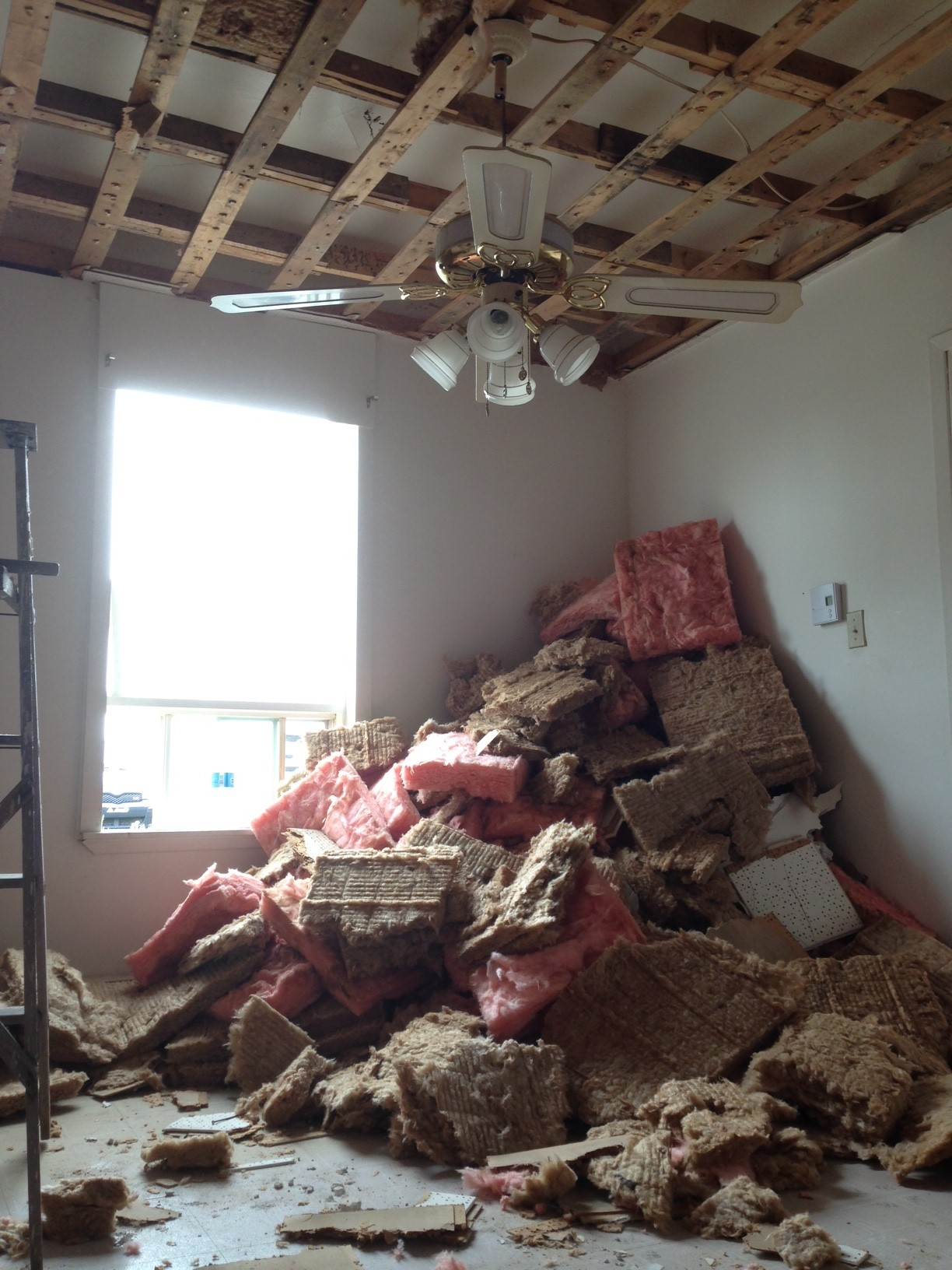 That's a lot of insulation!