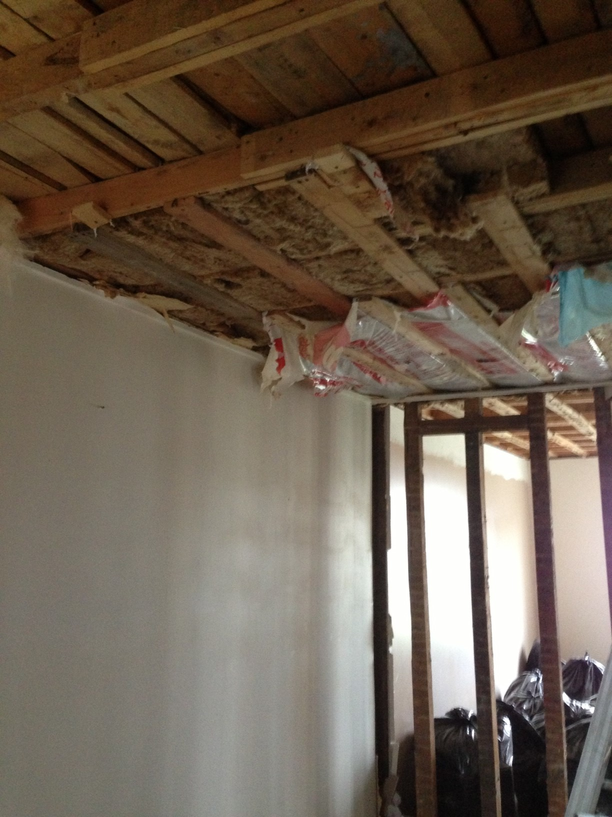 First layer of insulation down.....But wait, there's more to come!