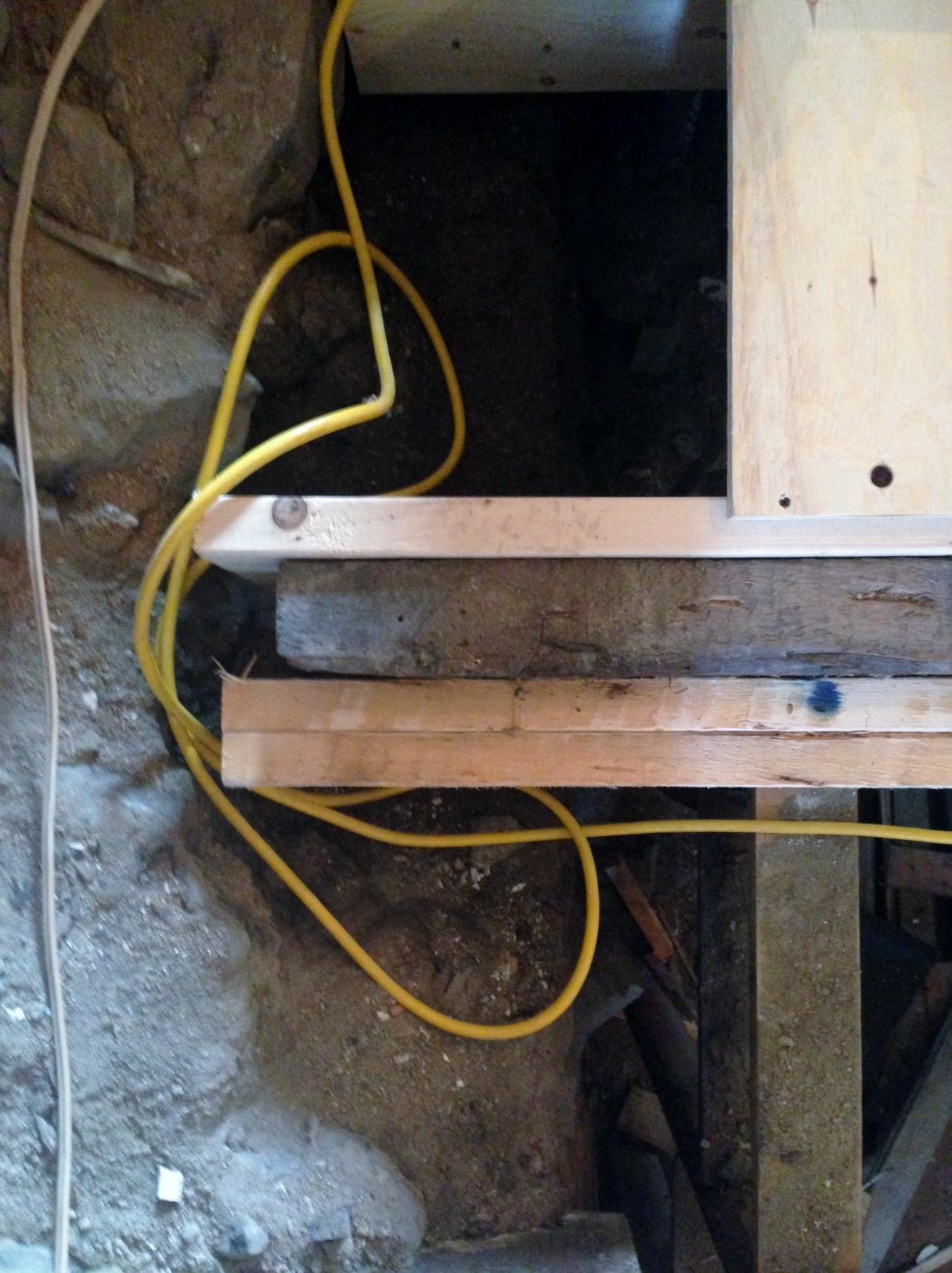 reinforced beam