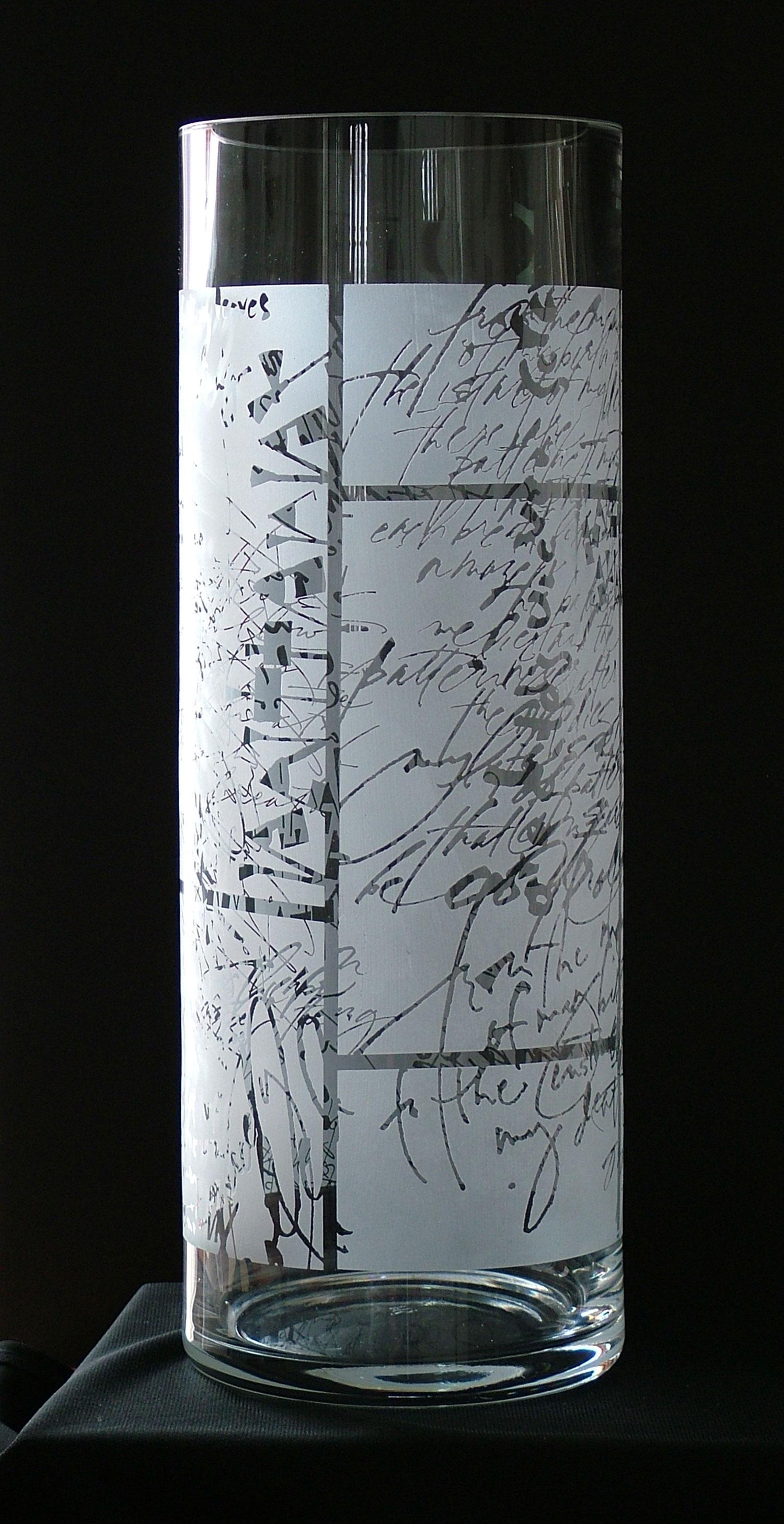 """Patterns"" Vase"