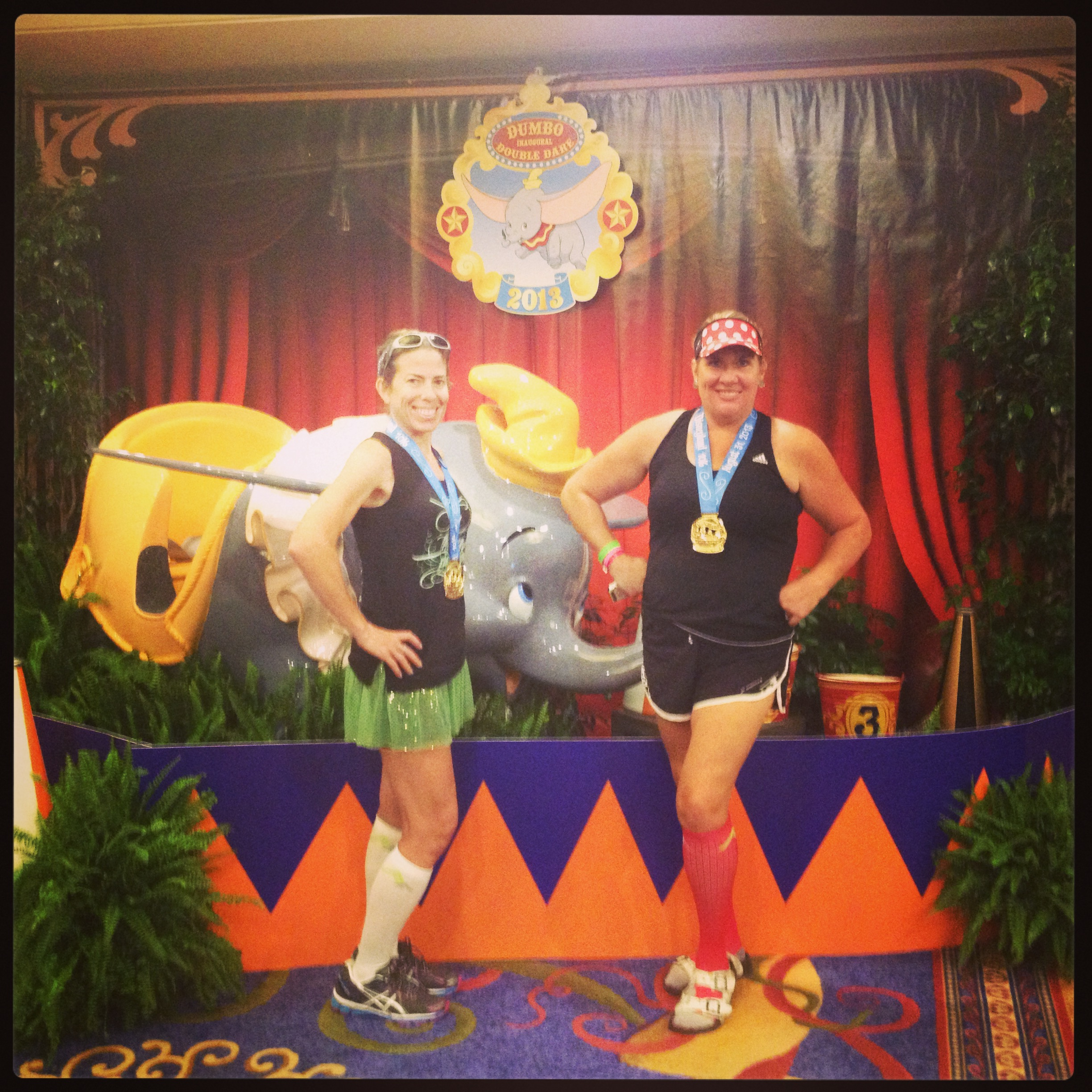 10K complete - ready for the Dumbo Challenge tomorrow am!!